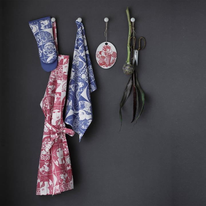 Bjørn Wiinblad - barbecue gloves and tea towel