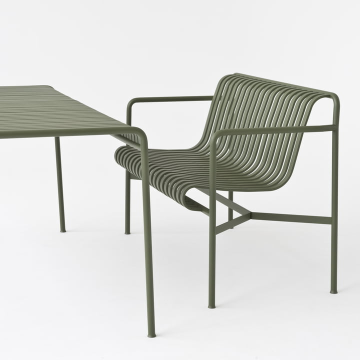 Palissade Bench By Hay In The Interior Design Shop