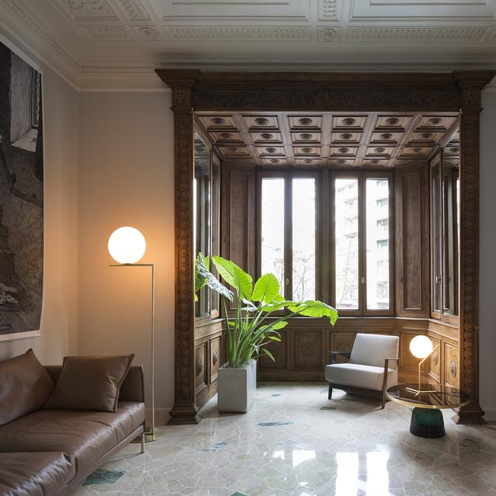 living room floor lighting sweep flos ic floor lamp brass living room lighting ideas tips online shop connox
