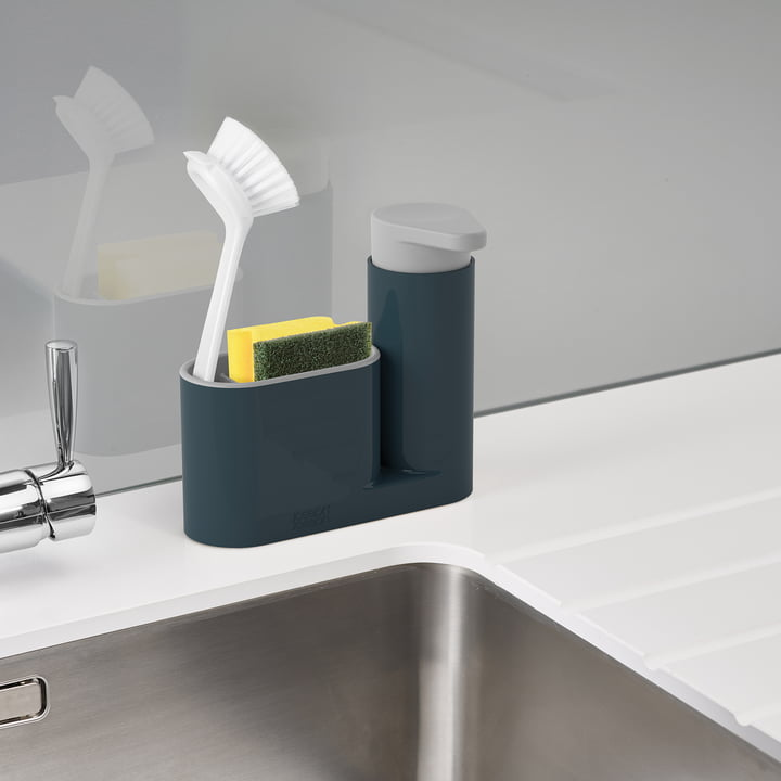 2-piece SinkBase Sink Cleaning Set by Joseph Joseph