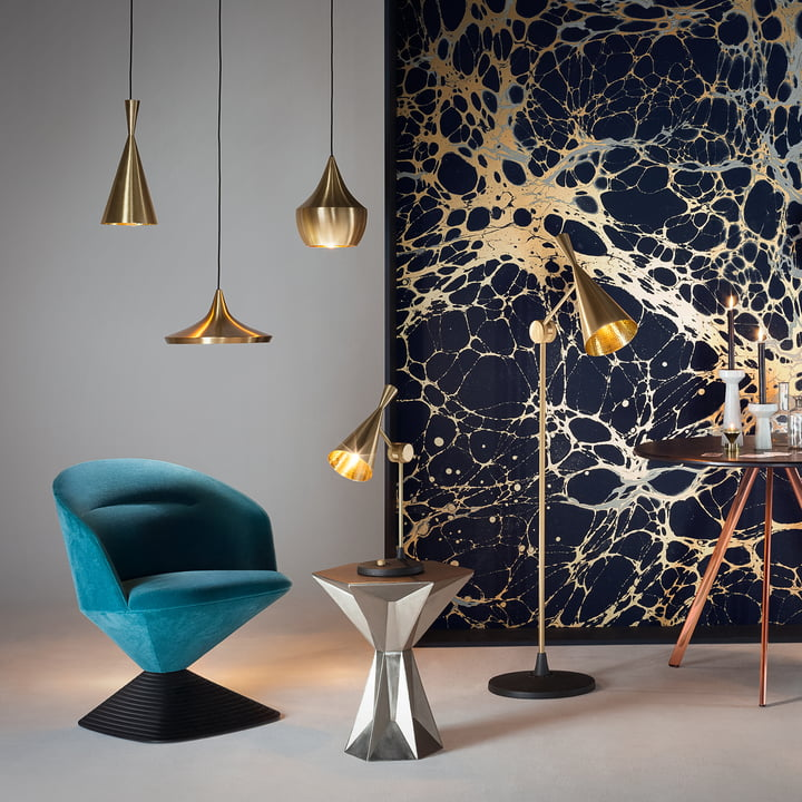 Beat Lights by the designer Tom Dixon