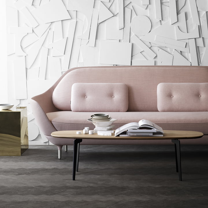 Enough room on the Join FH 61 Couch Table by Fritz Hansen