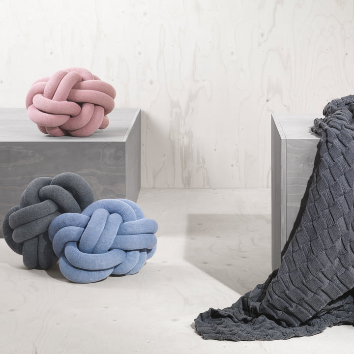The Knot Cushion by Design House Stockholm