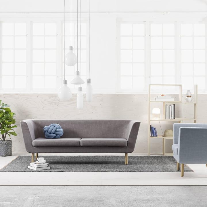 Nest Sofa with Extend Shelf