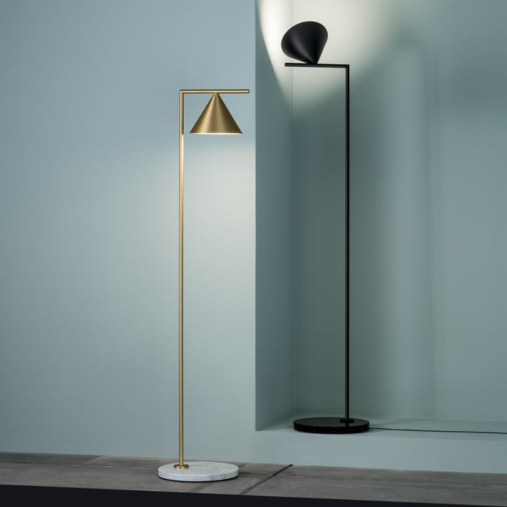 Captain Flint LED floor lamp by Flos