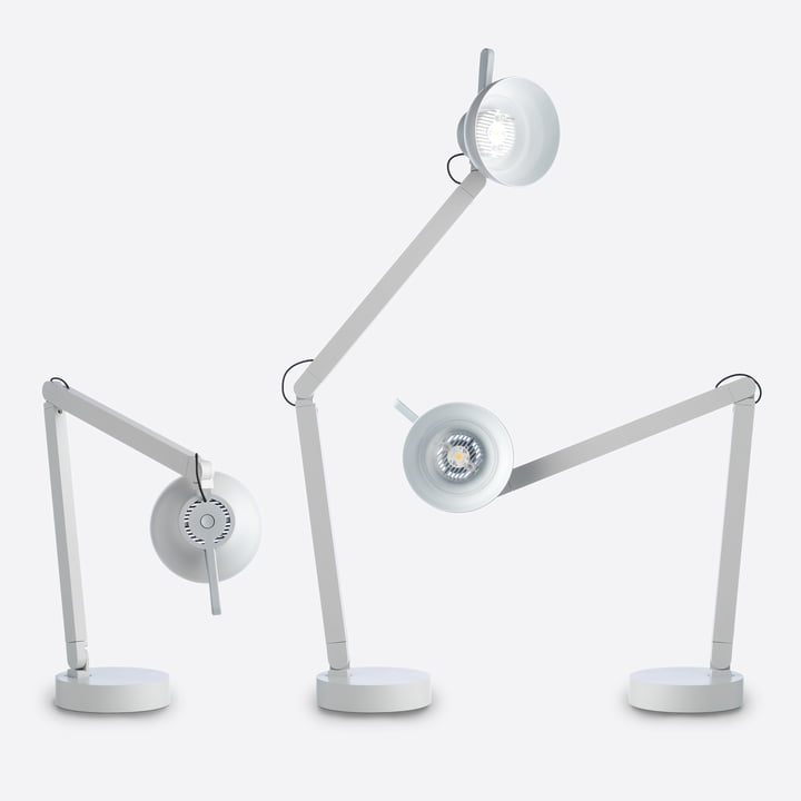 The PC Table Lamp by wrong.london in Light Grey