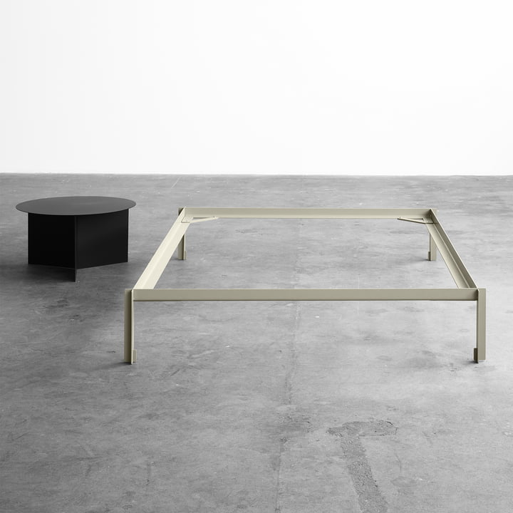 Connect Bed by Leif Jørgensen for Hay and the Slit Table, Round