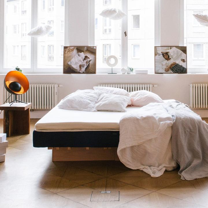 muun - mattress, blue - ambience picture