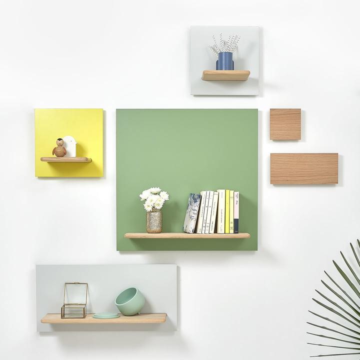Unique Wall Shelf System