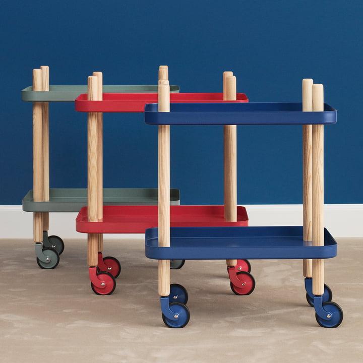 Block Table Trolley by Normann Copenhagen