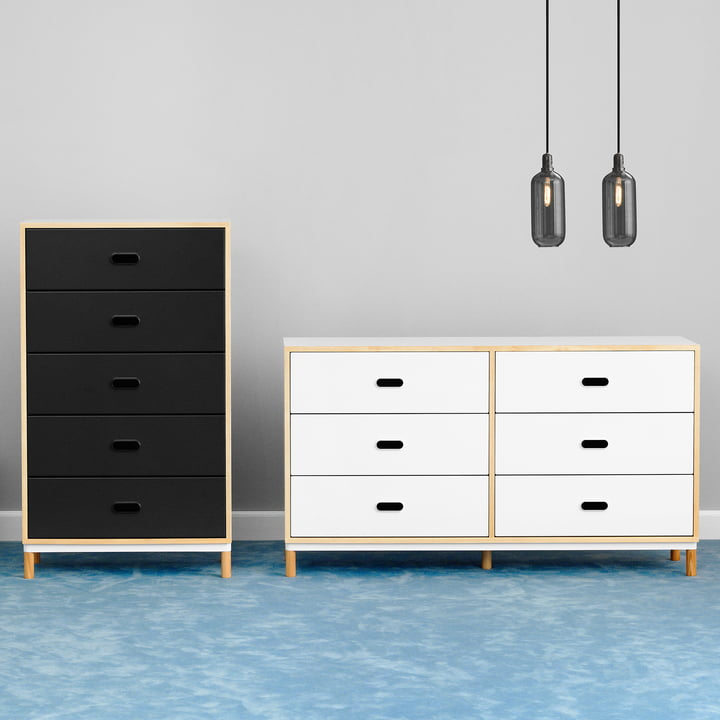 Kabino Sideboards with five or six Drawers