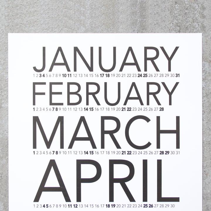 Snug.vertical Wall Calendar 2017 by Snug.Studio