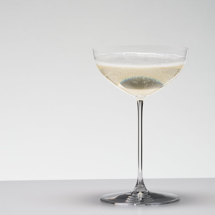 Coupé for cocktails and Martini