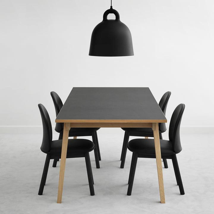 Normann Copenhagen - Ace Chair Tango Leather, black