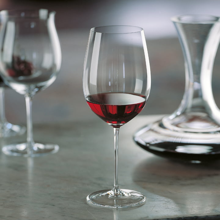 Glasses for Burgundy and Bordeaux