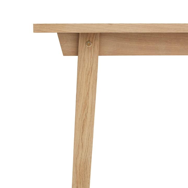 Slice Table Wood von Normann Copenhagen