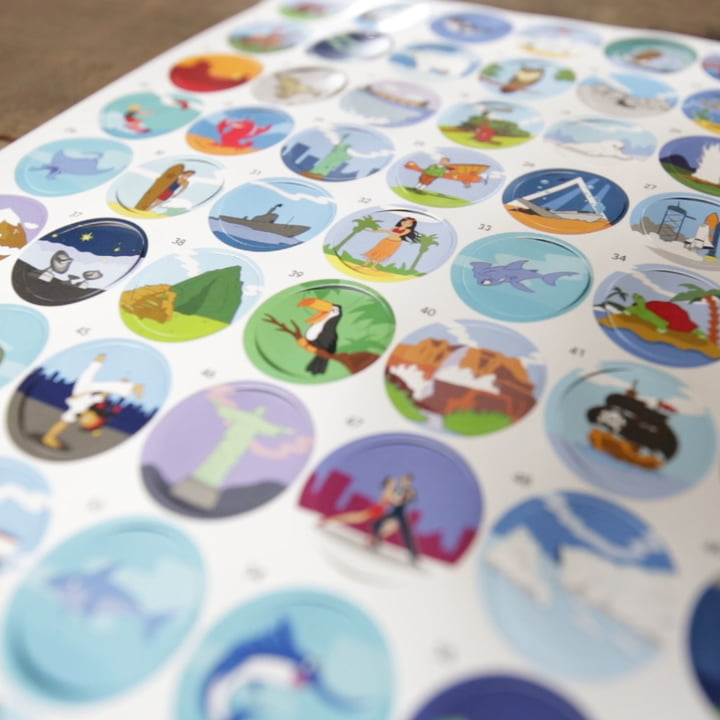 Stickers with Explanatory Information