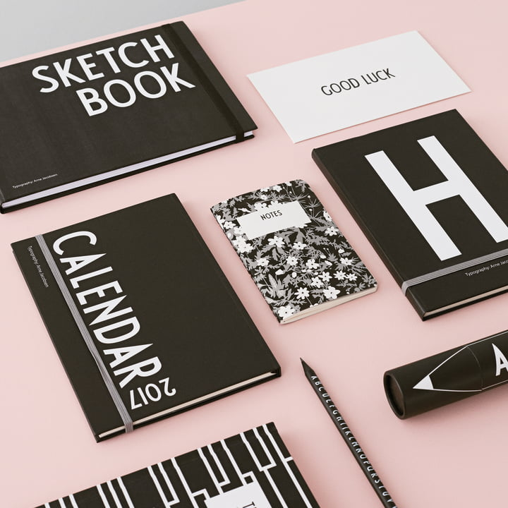 Calendar 2017 / Sketchbook / Notebooks by Design Letters