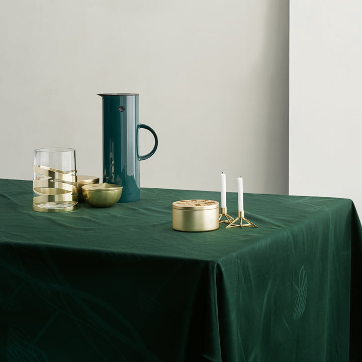 Tangle Star Candleholder and Nordic Bobonniere
