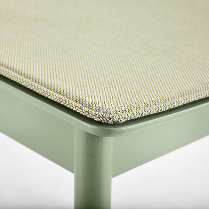 Pause Seat Cushion by Woud in Green