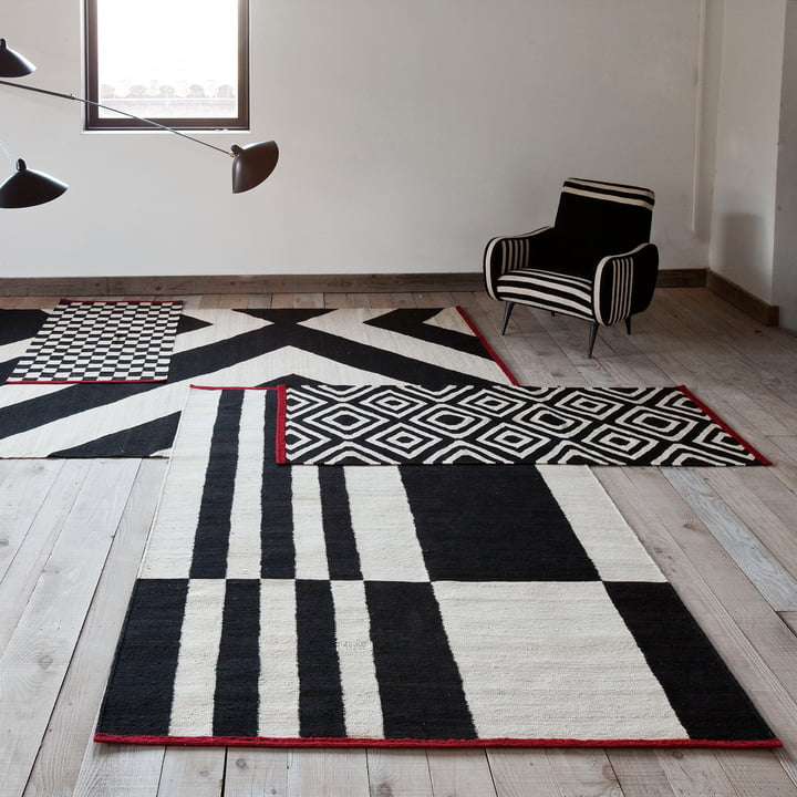 Mélange Rugs Pattern, Stripes and Zoom