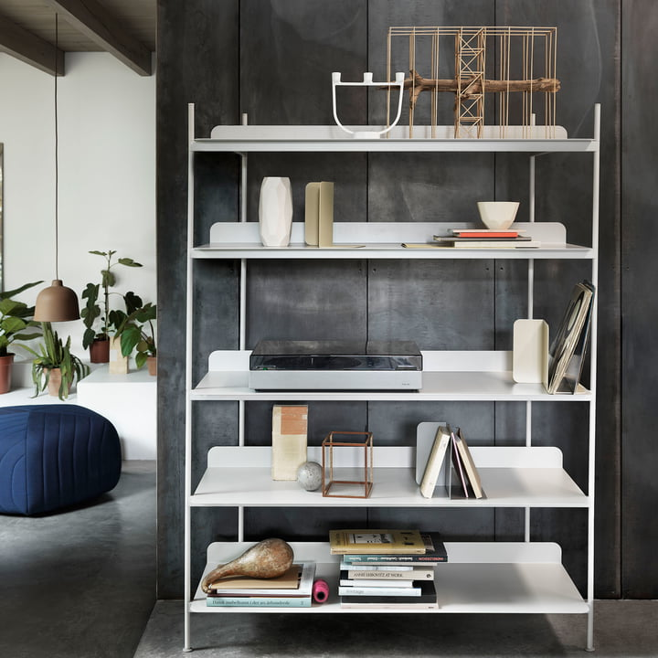 Compile Shelving System with Open Candle Holder
