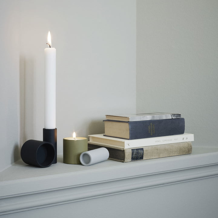 Tube Candle Holder by Skagerak