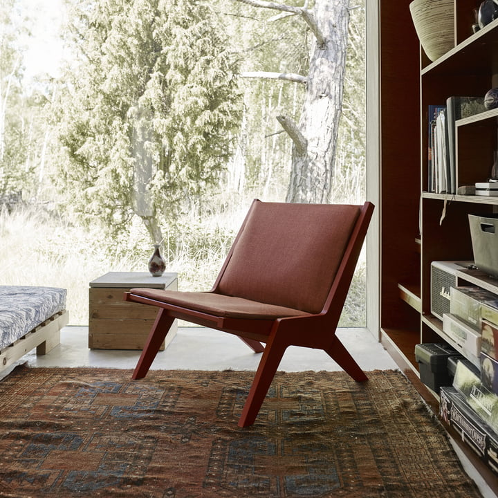 Miskito Lounge Chair in Scandinavian Tradition