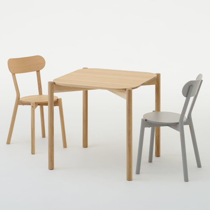 Karimoku New Standard - Castor Table / Castor Chair