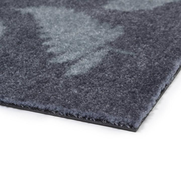 The tica copenhagen - Leaf Mega Doormat in grey