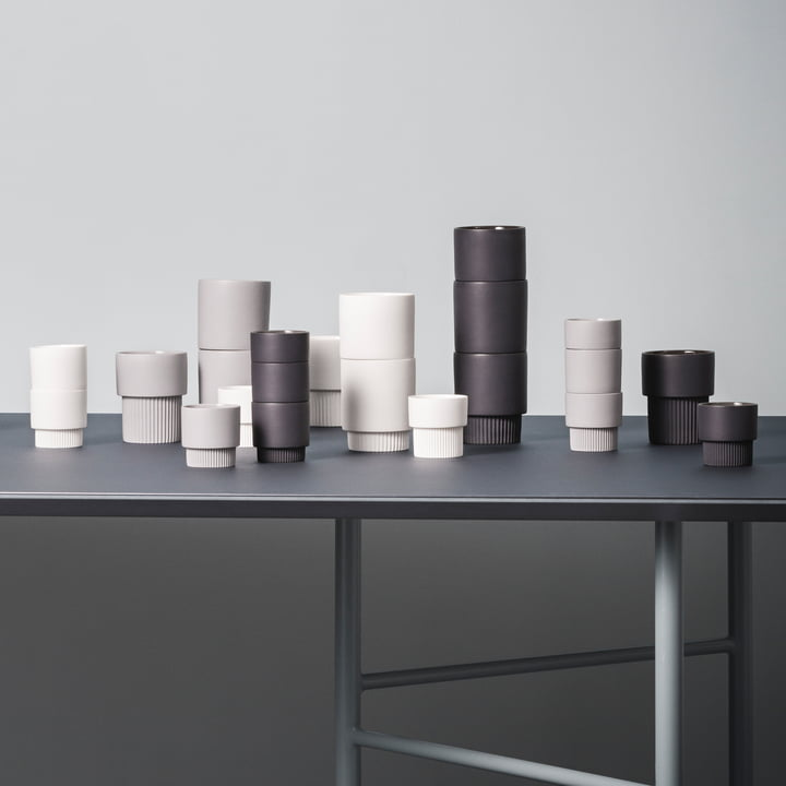 Groove Series by ferm Living with Mingle Table