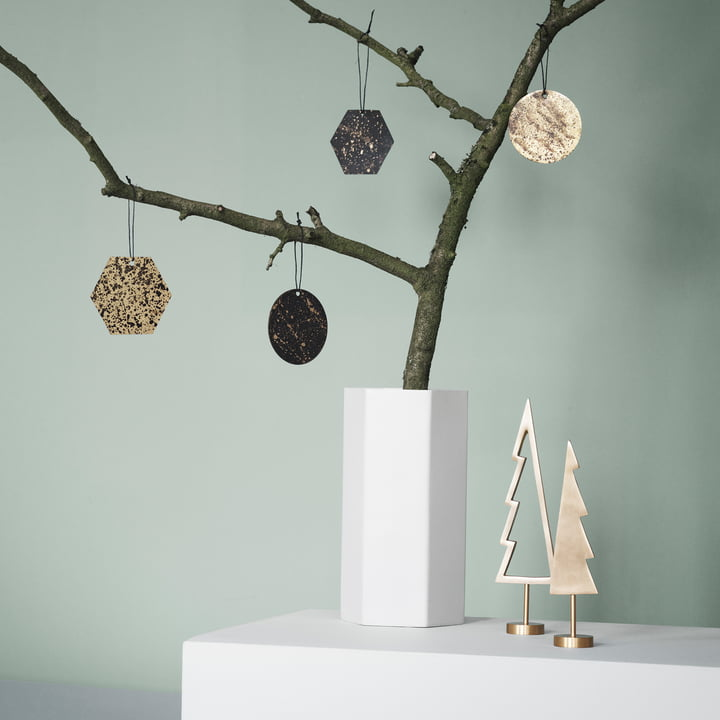 Winterland Brass Tree by ferm Living