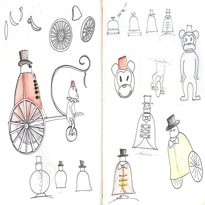 Sketch Book of Marcel Wanders