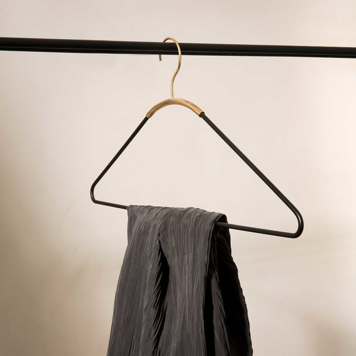 Ava Coat Hanger by Menu on Clothes Rail