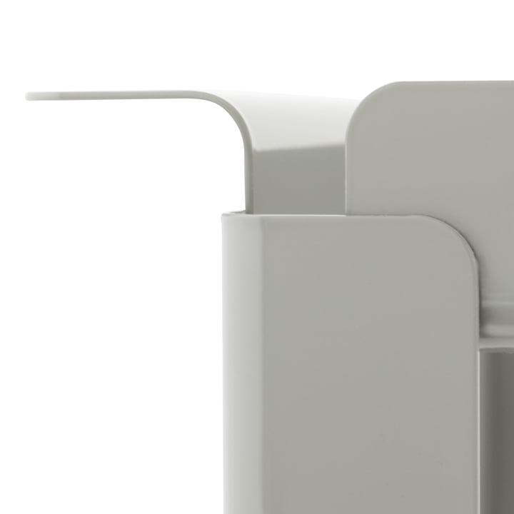 Normann Copenhagen - Box table 33 x 60 cm, cement grey