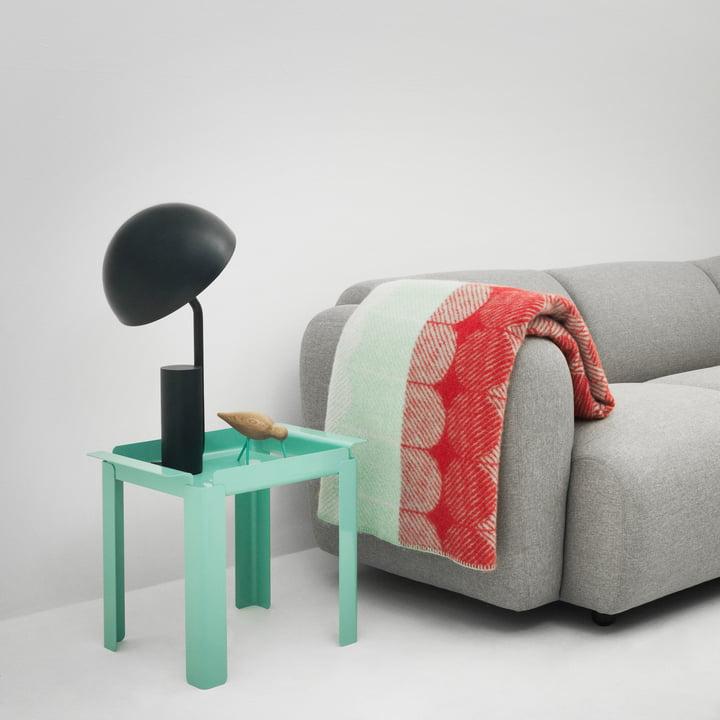Normann Copenhagen - Box table 33 x 48 cm, turquoise