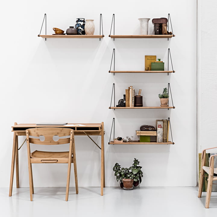 Loop Shelf, Field Desk and Dining Chair no. 1