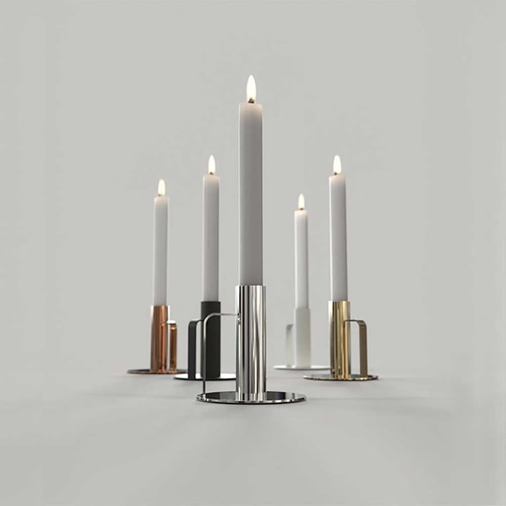 The Versatile Frost Candleholders
