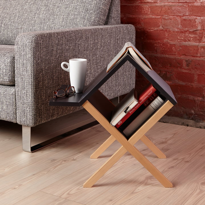 Storage table for books and more