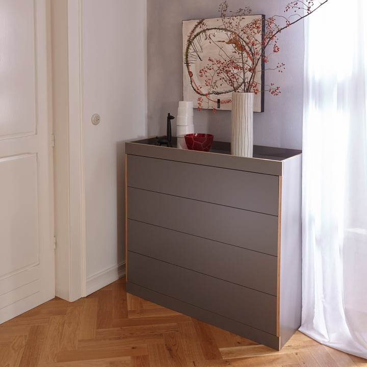 Flai Chest of Drawers with drawers by Müller Möbelwerkstätten