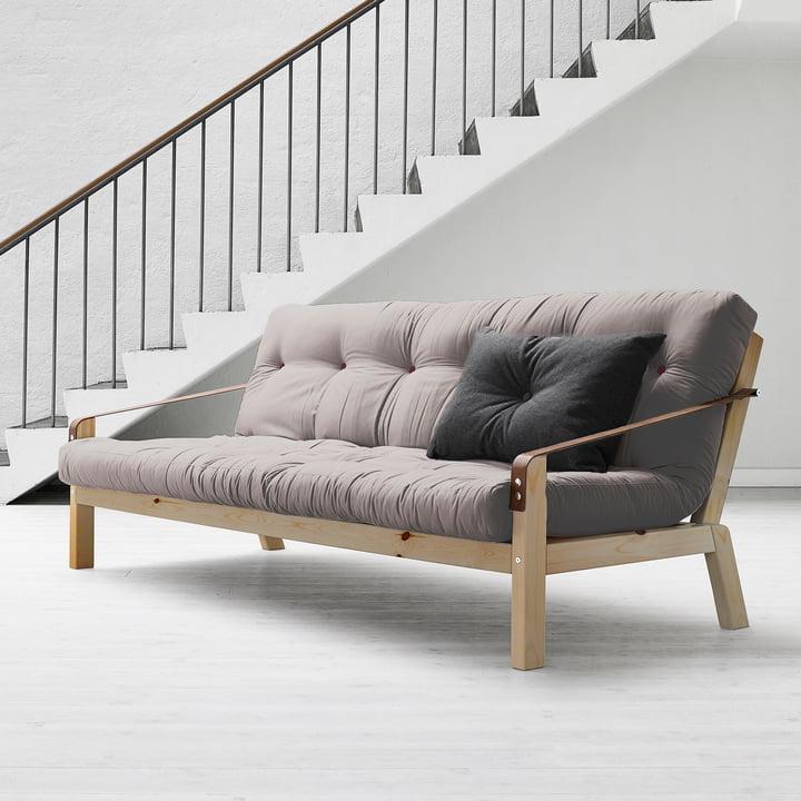 Poetry Sofa by Karup in Grey