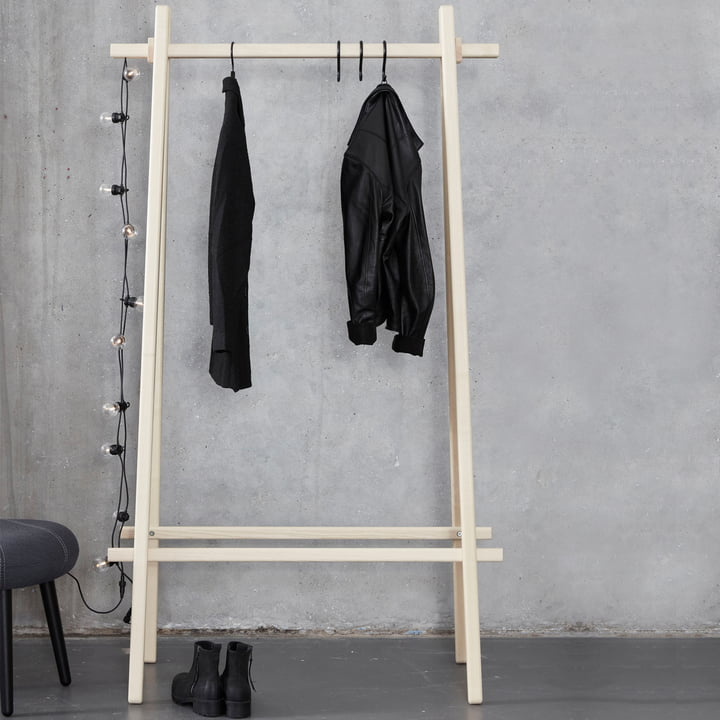 Clothes Rack by Andersen Furniture with Connectors