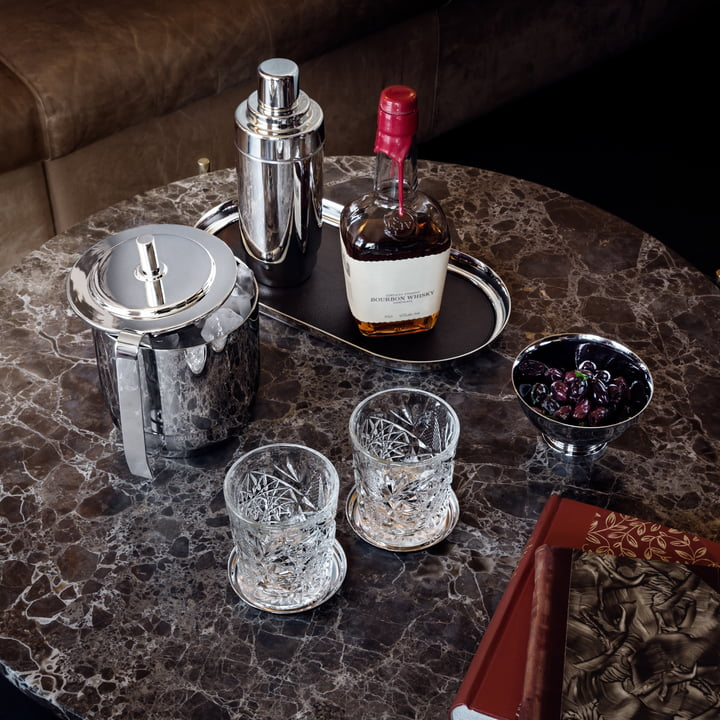 The home bar with Georg Jensen