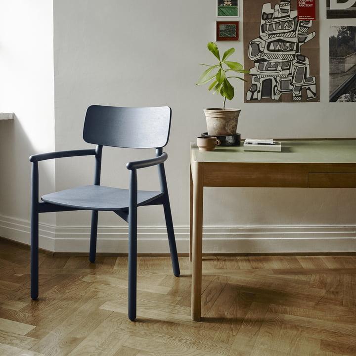 Hven Armchair by Skagerak in Dark Blue