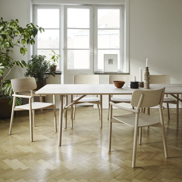 Hven dining table and chair