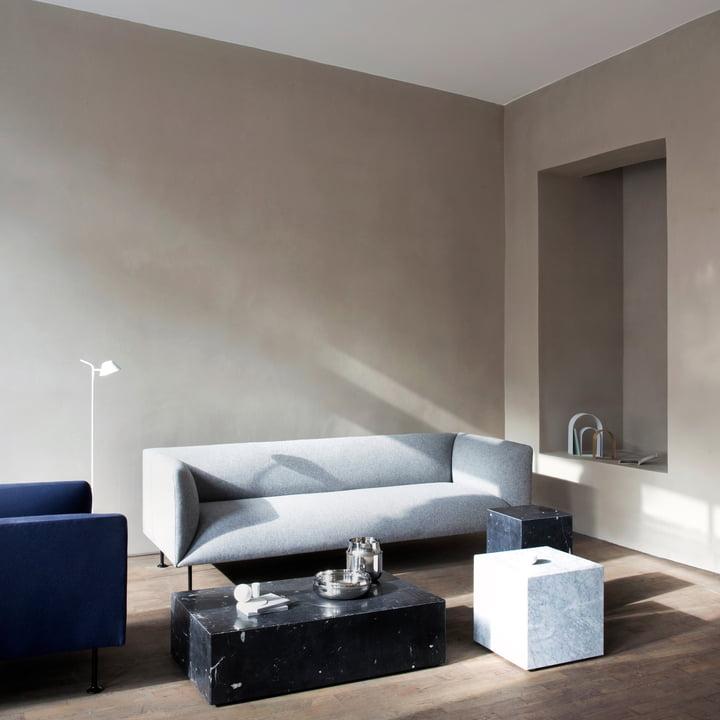 The comfortable Godot Sofa by Menu