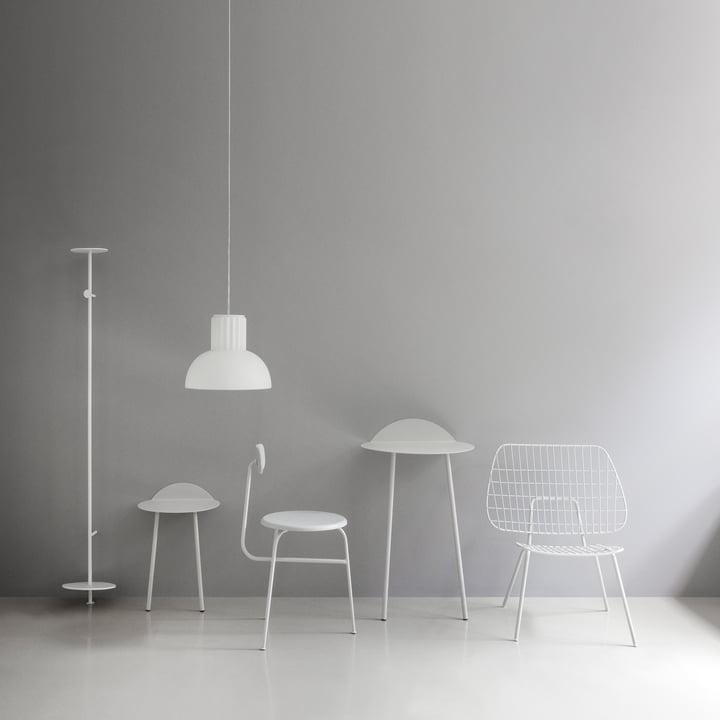 The elegant Standard pendant lamp by Menu