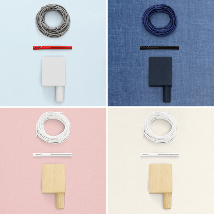 Different color combinations of the Ready Made Curtains
