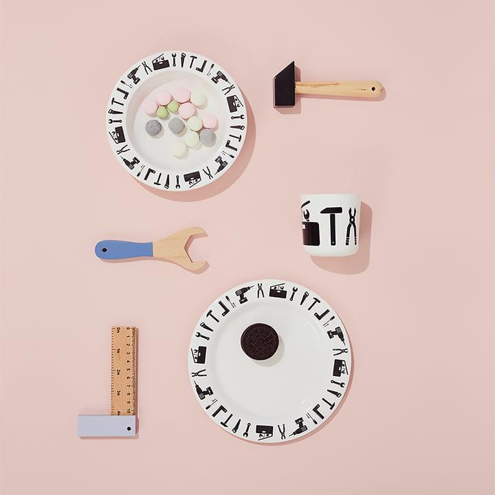 Tool School Melamine Set by Design Letters