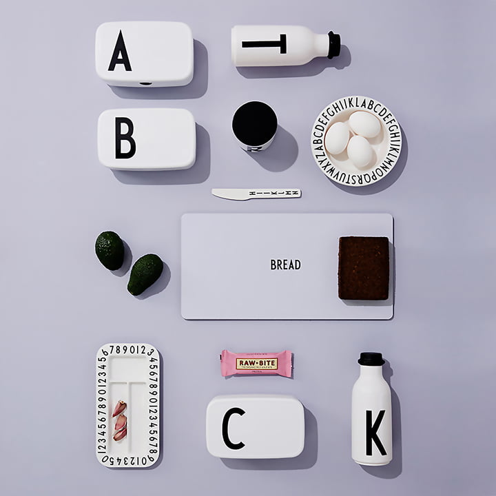 ABC Tableware by Design Letters